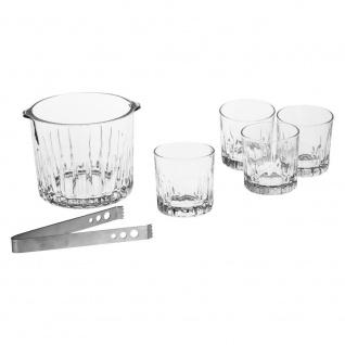 Whisky-Gläser, 2er-Set + Eimer mit Zange - Secret de Gourmet