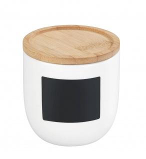 Lebensmittelbehälter aus Keramik mit Bambusdeckel WAIA, 0, 45 L, WENKO