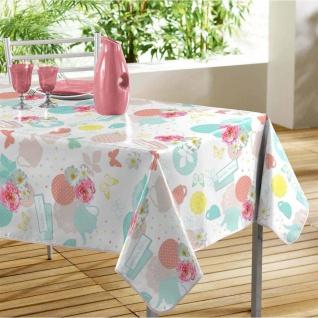 Tischdecke, rechteckig, TEA PARTY, 140 x 240 cm, weiß