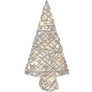 LED Weihnachtsbaum, 40 cm, weiß