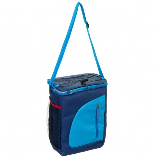 Thermotasche mit Schulterriemen und Taschen, Farbe hellblau, INTEX - Intex