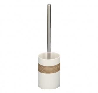 ZELLER Toilettenbürste 18261 WC-Bürste, Keramik / ø 9.5 x 35, beige / braun