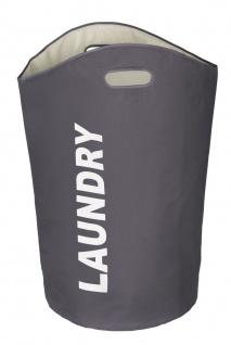 WENKO, Wäschesammler Lumo - Wäschekorb, Fassungsvermögen 65 L - Vorschau 2