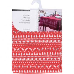 Weihnachtstischdecke, Motiv X-MASS - Home Styling Collection