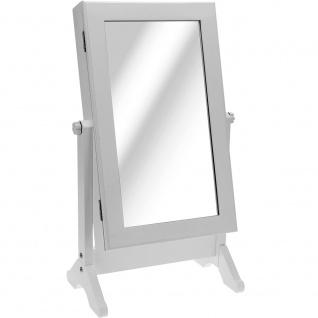 Spiegel mit einem Fach für Schmuck 2IN1