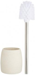 Wenko WC-Garnitur Goa , Kunststoff - Polyresin, 11, 8 x 38, 5 x 11, 8 cm, beige