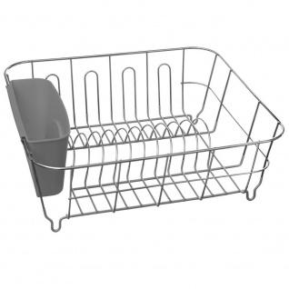 Cutter, Metallkonstruktion mit Kunststoff-Besteckbehälter.