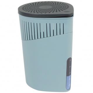 Feuchtigkeitsabsorber im eleganten Gehäuse, Universal-Luftentfeuchter - unterstützt bis zu 80 m3 Luft, 15 x 15 x 23 cm, WENKO