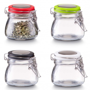 Gewürzbehälter, Glas mit Deckel, 125 ml, ZELLER - Vorschau 4