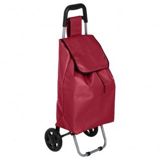 Rollwagen, Verpackung und praktische Tasche erleichtern den Einkauf