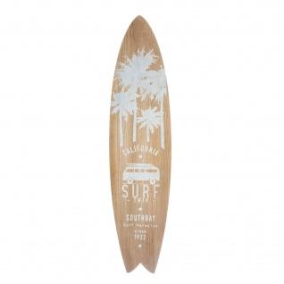 Surfbrett SOUTH BAY, weißer Aufdruck