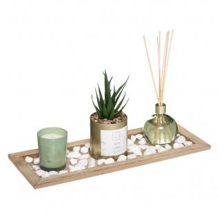 Duft-Set SECRET GARDEN, Kerze und Diffuser-Stäbchen