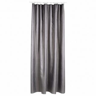 Duschvorhang 180 x 200 cm aus braunem Polyester, Atmosphera