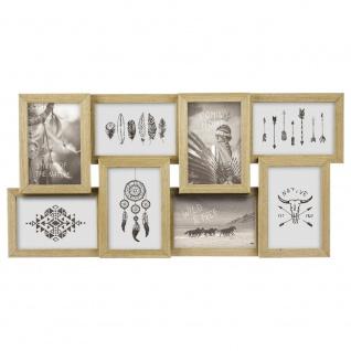 Bilderrahmen für 8 Fotos (10x15 cm), 58, 5 x 29 cm, Deko-Rahmen