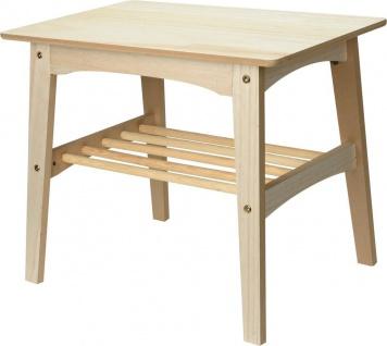 Beistelltisch, Holztisch, 60x49x40cm - Vorschau