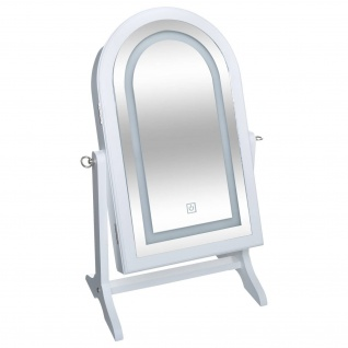 Spiegel mit Schmuckschrank, LED-Beleuchtung