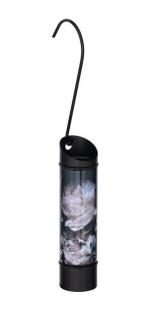 Luftbefeuchter für Kühler, rund, schwarz mit Pfingstrose, WENKO