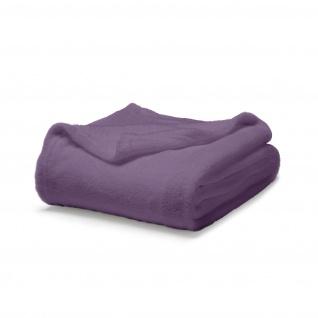 Kuscheldecke, 220x240 cm, violett, TODAY - Today
