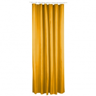 Polyester Duschvorhang 180 x 200 cm Senf - 5five Simple Smart