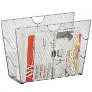 ZELLER Zeitungsständer, Mesh, anthrazit - Vorschau 2