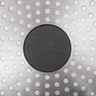 Secret de Gourmet, Aluminium Grillpfanne, Granitbeschichtung, 28 cm - Vorschau 4