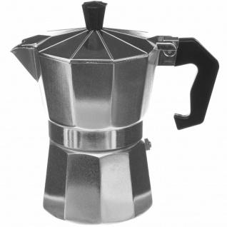 Druckkaffeemaschine Aluminium Aluminium, Farbe schwarz