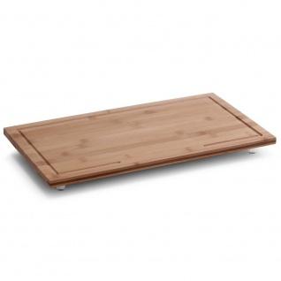 Zeller Herdabdeck-/Schneideplatte, Bamboo, 50 x 28 x 4 cm