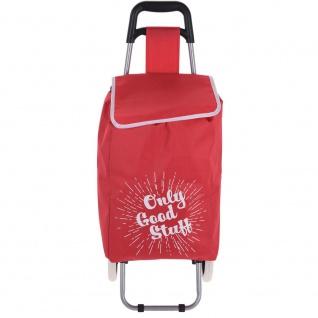 Eine Einkaufstasche mit Rädern großes Fassungsvermögen 30 l macht es einfach, viele Menschen zu transportieren - Storagesolutions