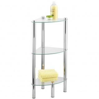 YEGO WENKO Eckbadezimmer-Regal, 3 praktische Regale einfach zu installieren - WENKO