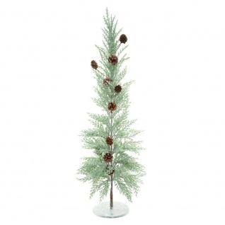 Künstlicher Weihnachtsbaum mit Zapfen, Metallfuß 83 cm - Fééric Lights and Christmas