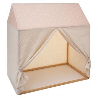 Stoffabdeckung für Kinderbett aus Holz in Form eines Häuschens, 116 x 126 cm - Atmosphera for kids
