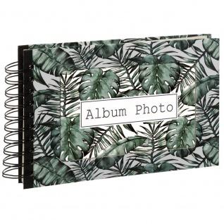 Fotoalbum, 80 Seiten, Spirale, dunkelblau - Atmosphera