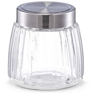 Lebensmittelbehälter, Glas mit Deckel, 950 ml, ZELLER