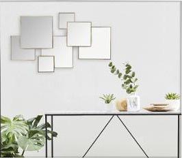 Dekorative Wandspiegel, Designer-Spiegel, dekorativer Spiegel 61, 5 x 37 cm - Vorschau 2