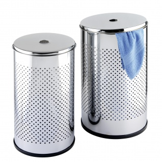 Silberne Waschkörbe, 2 Stück