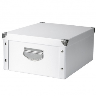 ZELLER Aufbewahrungsbox, Pappe, 17 cm hoch