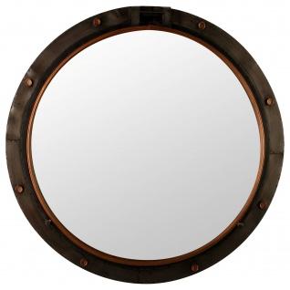 Runder Spiegel HUBLOT, Metall, Ø 74 cm