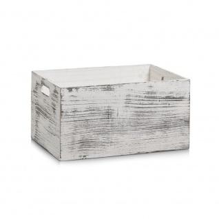 Zeller Aufbewahrungs-Kiste 35 x 25 x 18 cm
