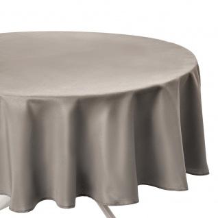 Fleckabweisende, runde Tischdecke in , praktische Tischdeko
