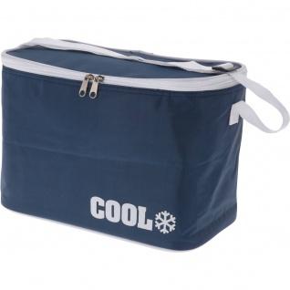 Kühltasche COOL, 8 L, dunkelblau