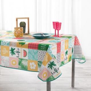 Tischdecke, rechteckig, SWEET PARADISE, 150 x 240 cm, mehrfarbig