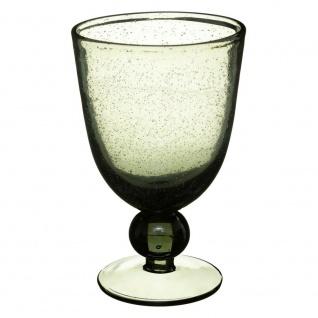 GREY BUBBLE Weinglas, Ø 10 cm, Glas - Secret de Gourmet