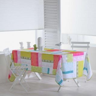 Tischdecke, rechteckig, FLORIDA, 150 x 240 cm, weiß mit Aufdruck