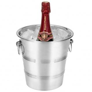 Ständer für die Kühlung von Champagner, Alkohol - Edelstahl, 22 cm