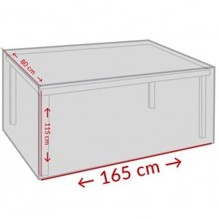 Schutzhülle für Gartentisch - 165 x 115 x 80 cm