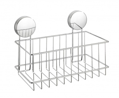 Duschregal OSIMO Static-Loc, verchromter Stahl, 24 x 16, 5 x 13, 5 cm, Wenko