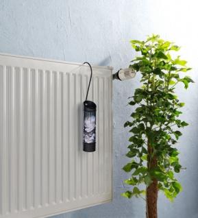 Luftbefeuchter für Kühler, rund, schwarz mit Pfingstrose, WENKO - Vorschau 2