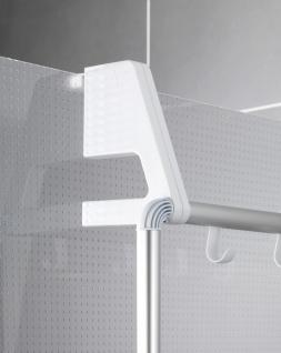 WENKO Handtuchhalter für Tür und Duschkabine Compact mit 3 Querstangen - Vorschau 4