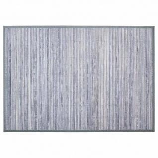 Badteppich aus Bambus, Badläufer, 120 x 170 cm, braun