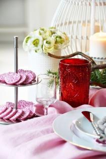 EH Excellent Houseware, Etagere silber 2-stöckig aus Edelstahl, Kuchenständer - Vorschau 5